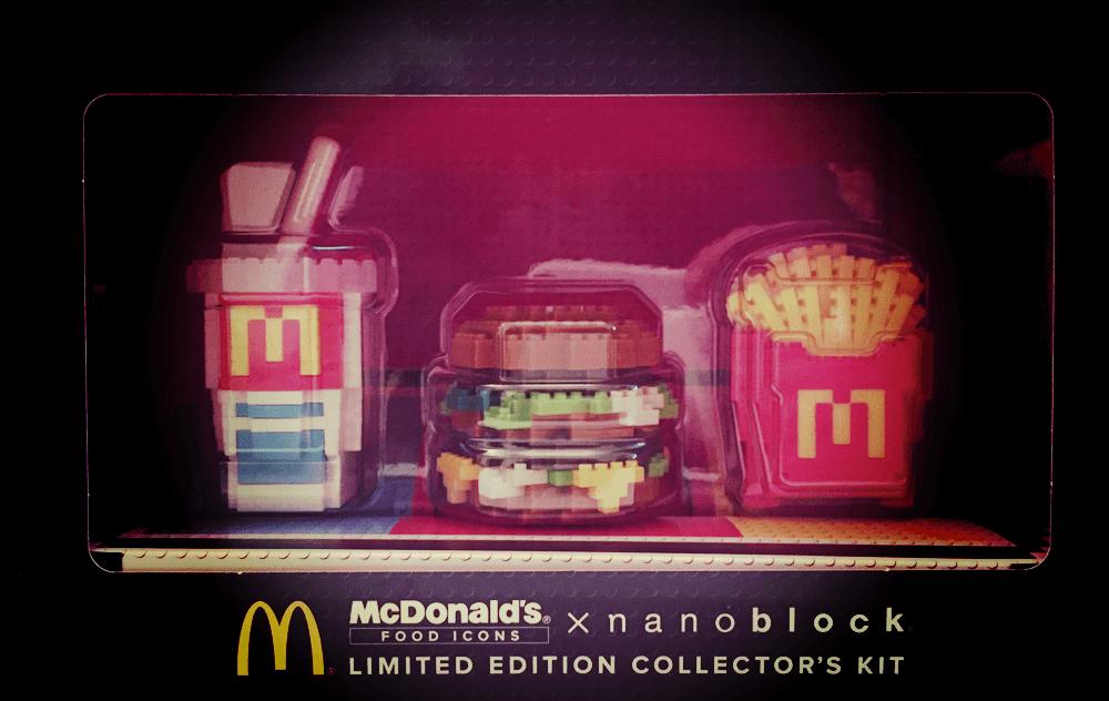 マクドナルド×ナノブロック