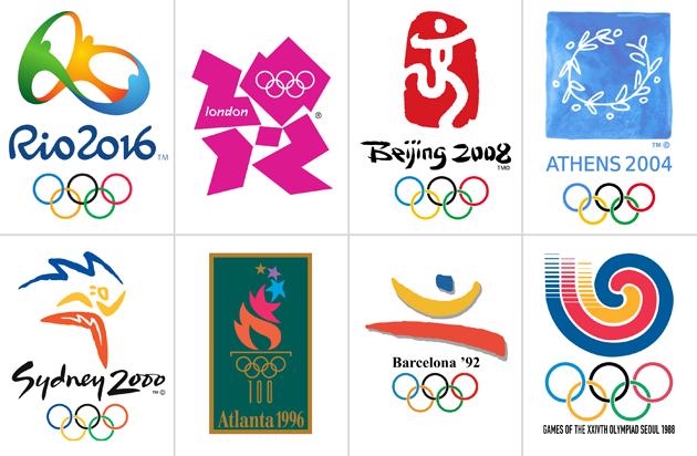 歴代オリンピック エンブレム