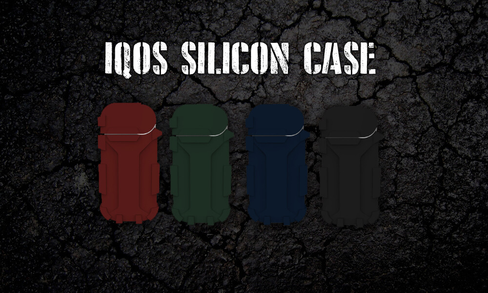 iQOS-アイコス-を傷や衝撃から守るシリコンケース