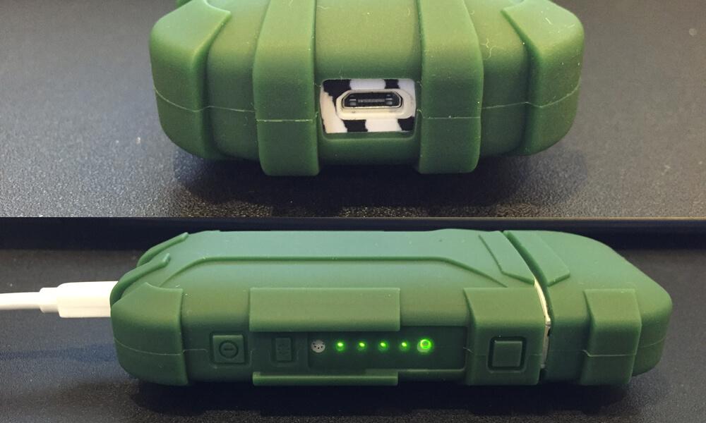 iQOS(アイコス)シリコンケース 底面充電