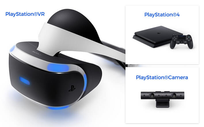 PS VRに必要な機器