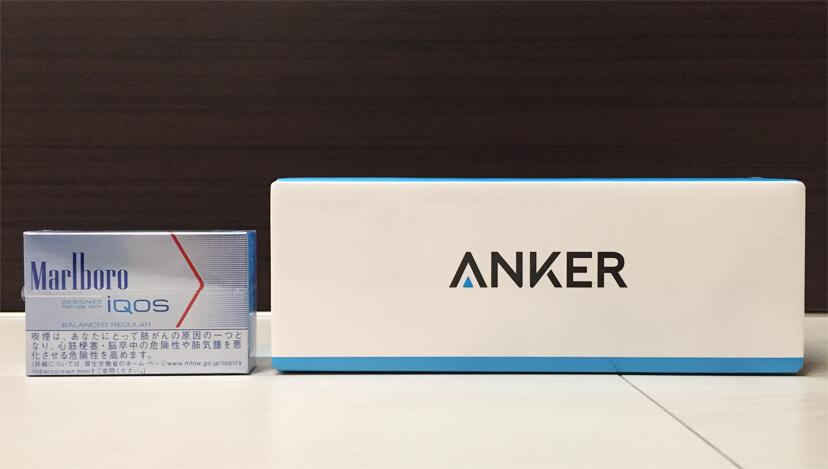 ANKERのモバイルバッテリー