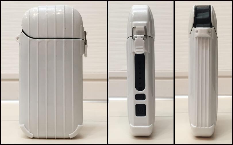 iSUIT CASE(アイスーツケース)の表面・小口・背