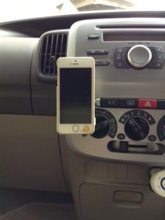 マグテック(mag-tek)でiPhoneを装着